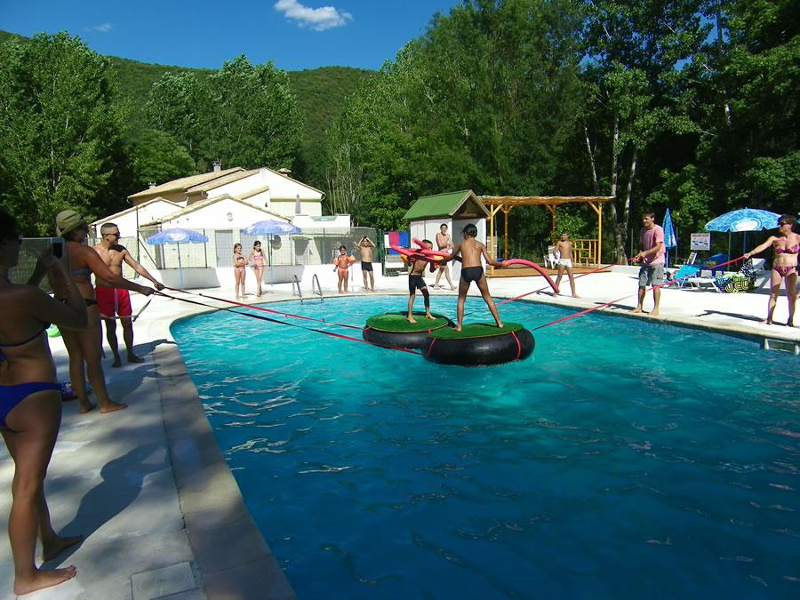 Camping r sidentiel gard devenez r sident de camping dans for Animation piscine